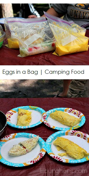 eggs in a bag