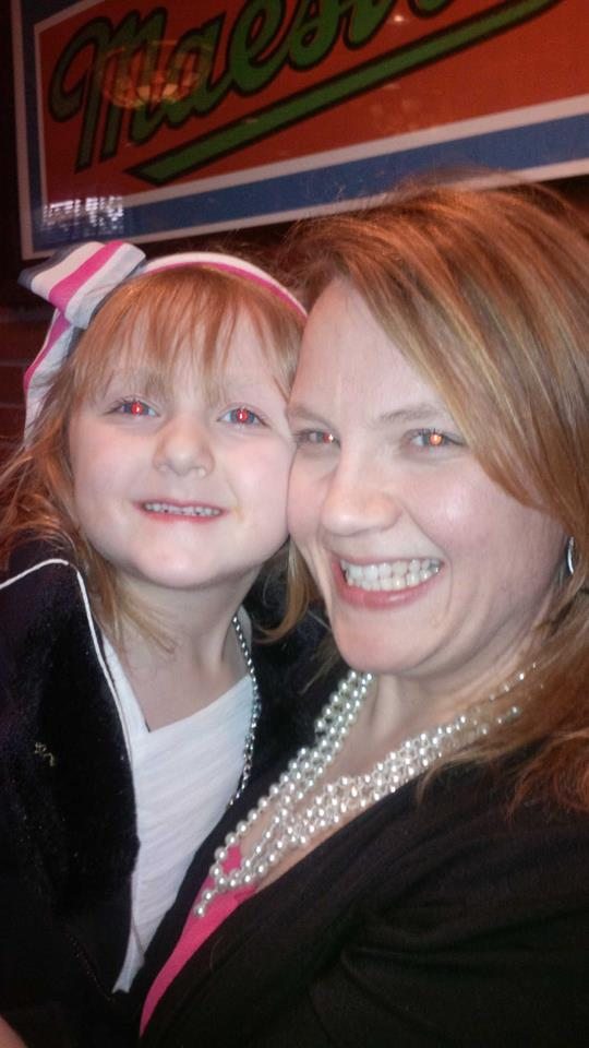 Arianna and Me April 2014