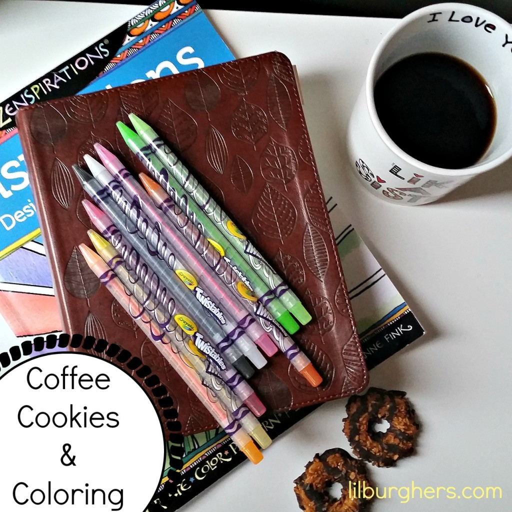 coffee cookies coloring