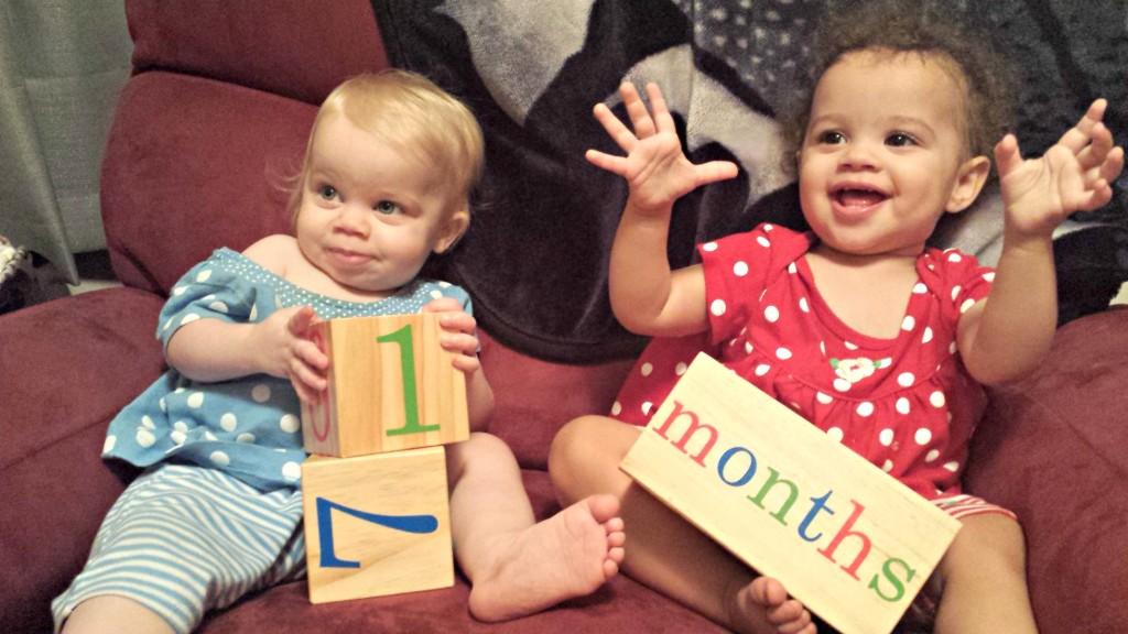 Twins 17 Months
