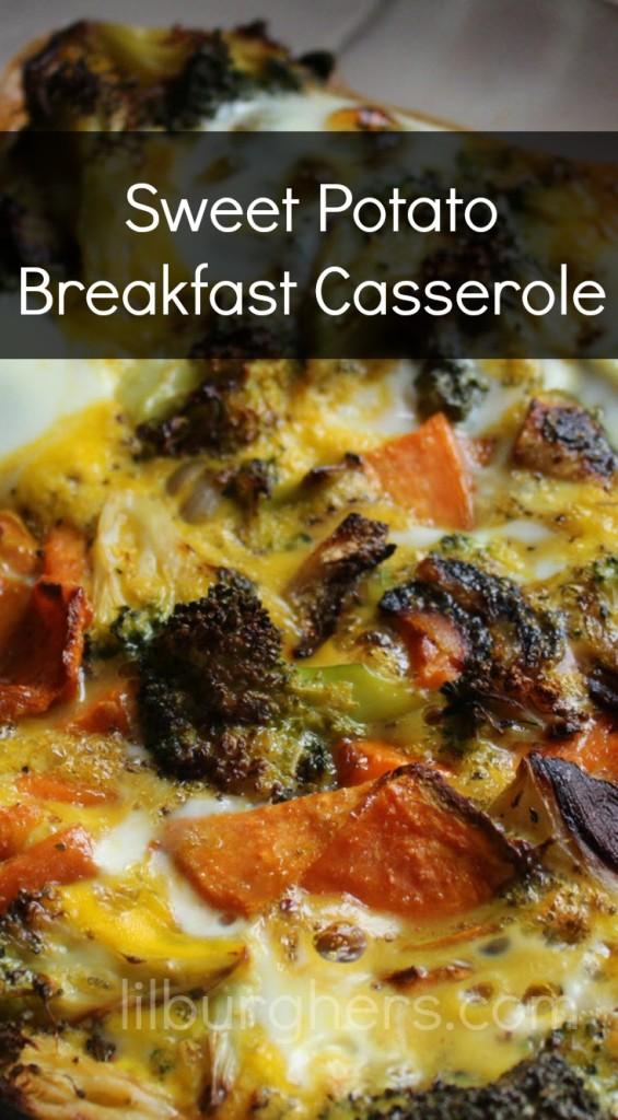 Sweet Potato Breakfast Casserole