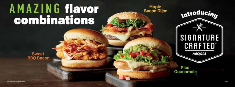 McDonald's Signature Crafted Recipe