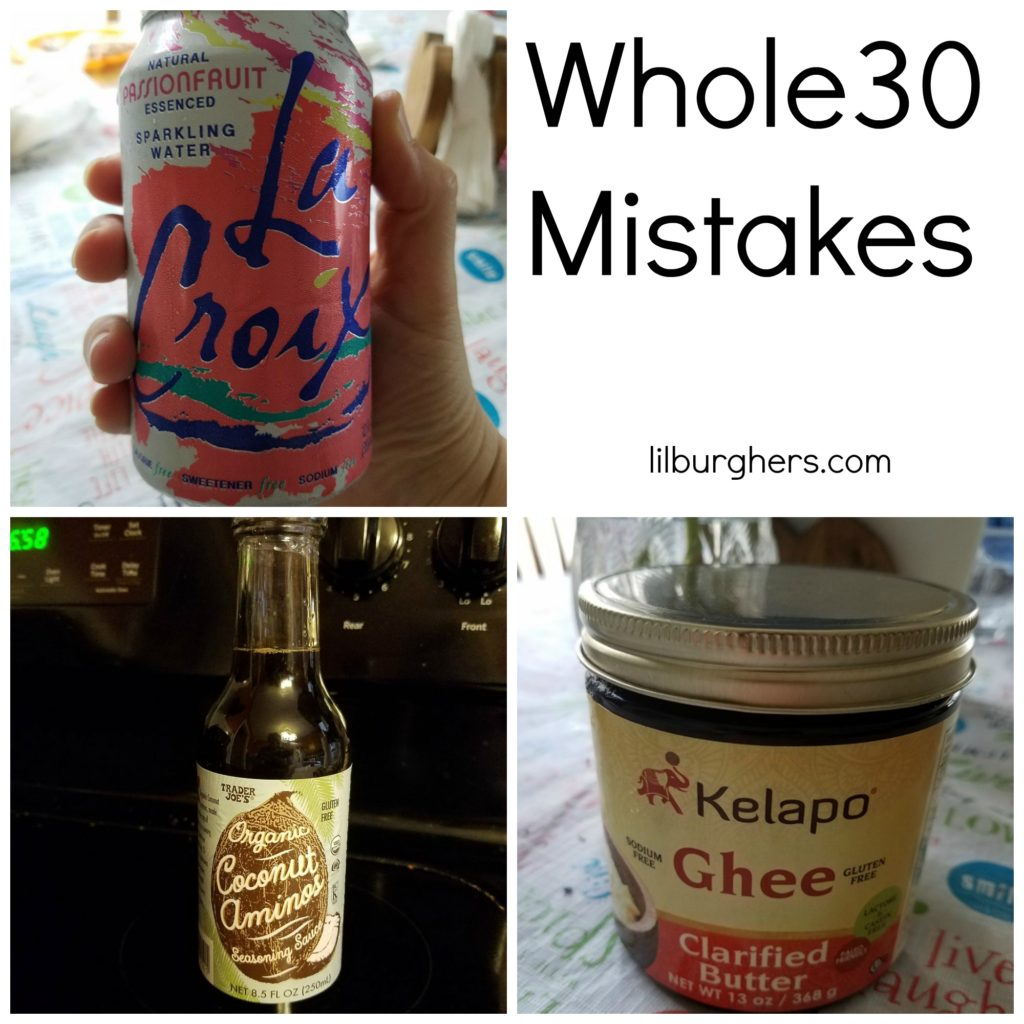 Whole30 Mistakes
